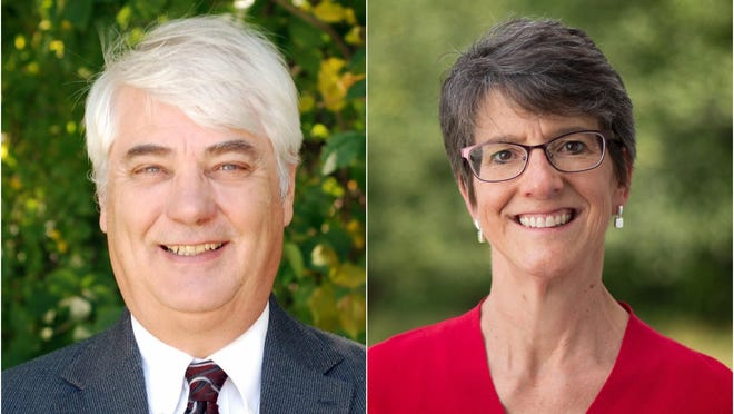 Democrat Traci Gere and Republican H. Stedman Seavey, both of Kennebunkport, are competing in the Nov. 3 election to represent Maine House District 9, which is comprised of Kennebunkport and part of Biddeford.
