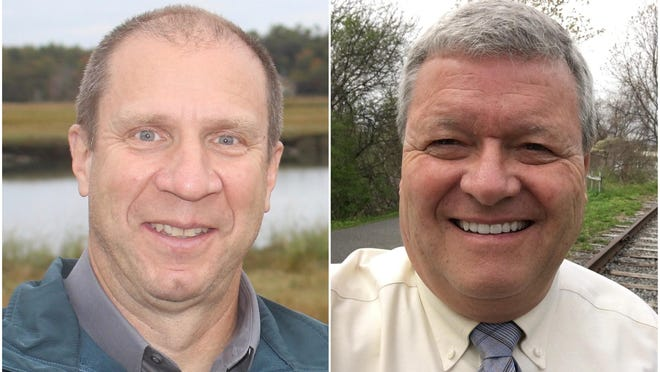 Democratic incumbent Rep. Christopher Babbidge and Republican challenger Todd DiFede, both of Kennebunk are competing in the Nov. 3 election to represent Maine House District 8, which consists of part of Kennebunk.