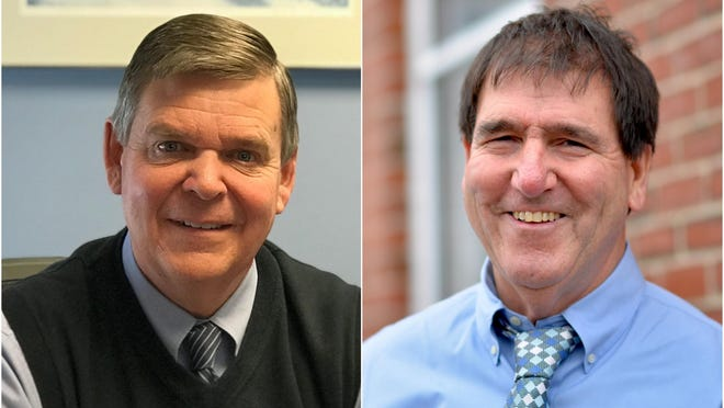 Republican Michael Pardue and Democrat Joseph Rafferty, both of Kennebunk, are competing in the Nov. 3 election to represent Maine Senate District 34, which is comprised of Kennebunk, Wells, Acton, Lebanon, North Berwick and part of Berwick.