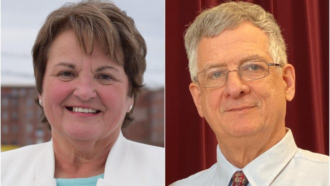 Incumbent State Sen. Susan Deschambault and challenger Bob Daigle are competing in the Nov. 3, 2020, election to represent Maine Senate District 32, which covers Arundel, Kennebunkport, Alfred, Biddeford, Dayton and Lyman.