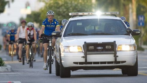 """""""Ride of Silence"""" To Honor Fallen Cyclists: 9 a.m. May 20. Riverside Park silent during the ride. There is no cost to participate. Helmets are required. Front and rear lights are recommended."""