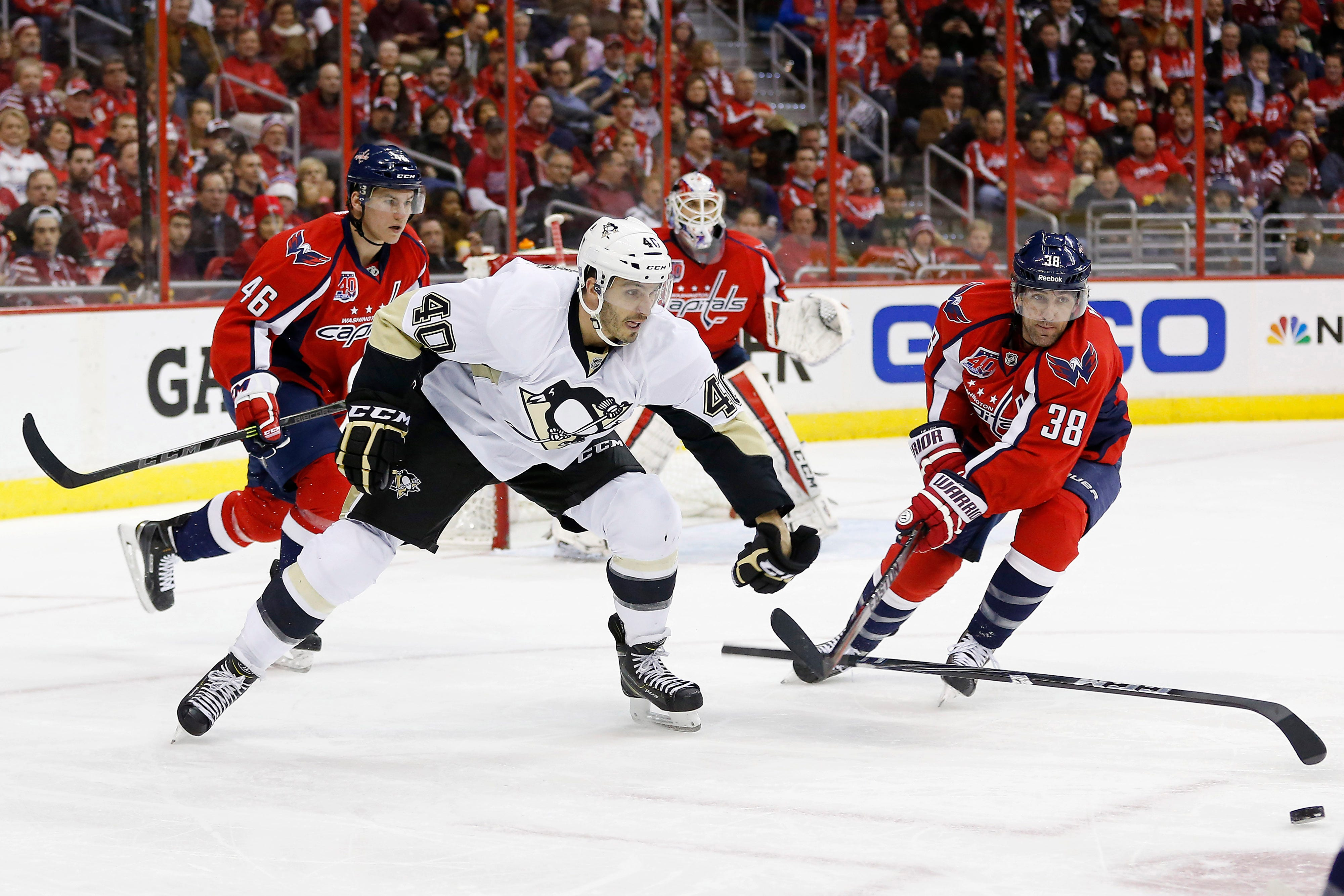 photo relating to Washington Capitals Printable Schedule referred to as Ovi results in being 2; Crosby struggles as Capitals blank Penguins 4-0