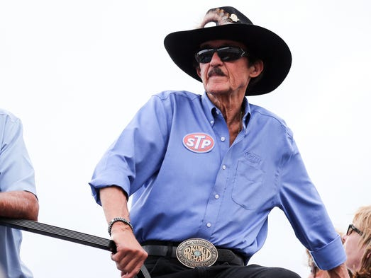 Richard Lee Petty, nicknamed The King, was born July
