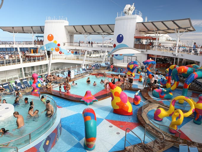 Wanna Splash Or Snooze Find The Right Cruise Pool For You