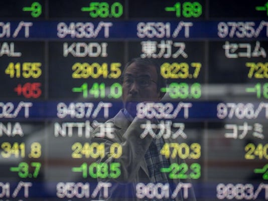 BESTPIX - Asian Markets Continue To Fall on Fears Of China Slowdown