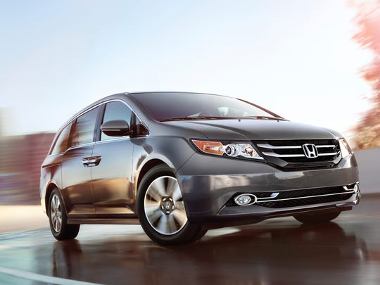 The 2017 Honda Odyssey, which ranks No. 12 in the Made