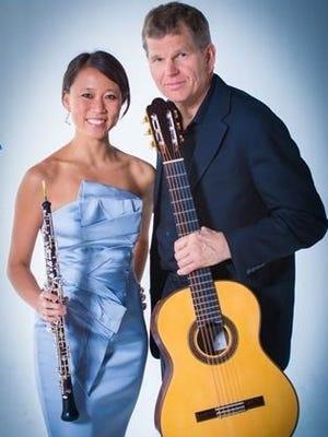Emily Tsai and William Feasley will perform Friday, Nov. 3, in Carrizozo.