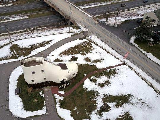 York County landmark The Haines Shoe House opened for