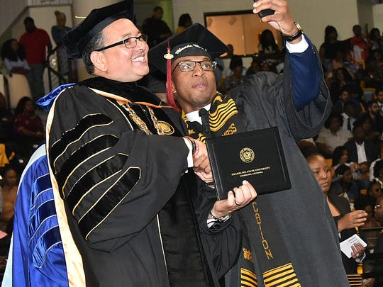 Grambling State University spring commencement was May 12.