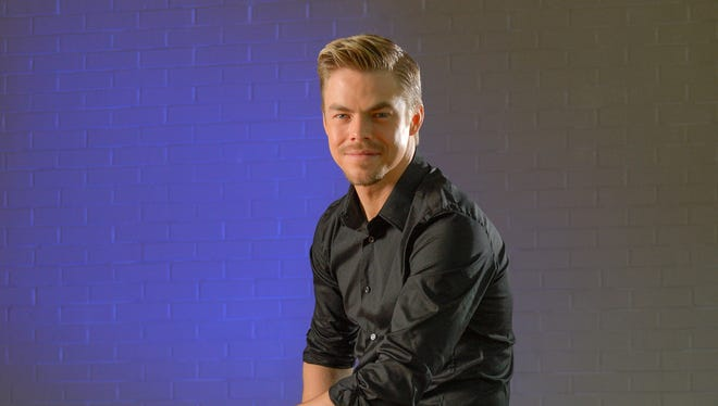 Emmy-winning 'Dancing With the Stars' pro dancer Derek Hough has written a new book, 'Taking the Lead: Lessons from a Life in Motion.'