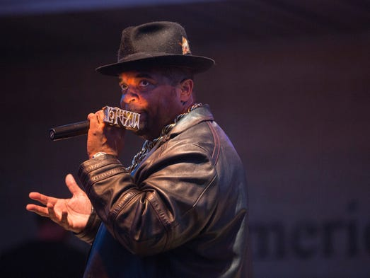 Sir Mix-A-Lot performs at the Iowa State Fair in Des
