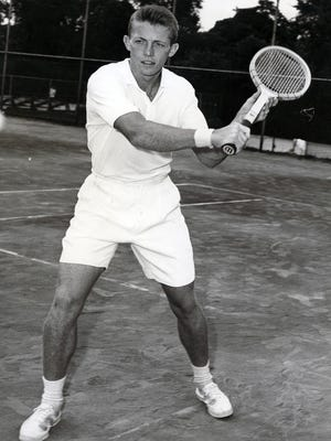 Tony Trabert, photographed on March 27, 1958