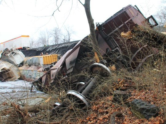 Freight Train Derailment Pennsylvania