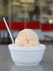 Pumpkin Custard at Classic Frozen Custard.