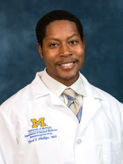 Dr. Tycel Phillips, MD and assistant professor at the University of Michigan Medical School