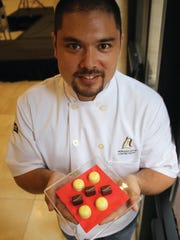 Fry was named Pastry Chef of the Year at U.S. Pastry Competition March 6.