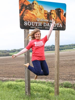 Travel blogger Kristin Luna visited Sioux Falls recently as part of a digital marketing campaign.