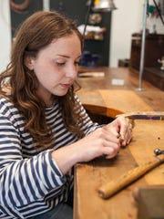 Artisan jeweler Marisa Lomonaco of Marisa Lomonaco