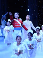 "American Repertory Ballet's ""Nutcracker"" includes children in the role of angels."