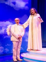 Stephen DeRosa plays Michael to Kathleen Turner's God.