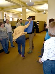 Employees with the secretary of state's office participate