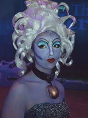 "Camilla Calderon as Ursula in YAT's ""Little Mermaid."""