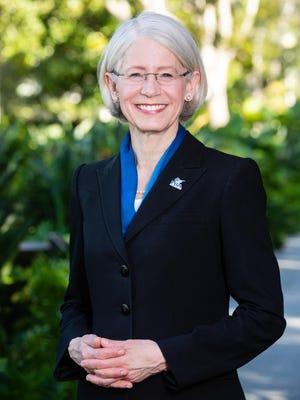 Dr. Debra Schwinn is the new president of Palm Beach Atlantic University.