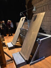 """A sneak peak to the """"Young Frankenstein"""" set."""