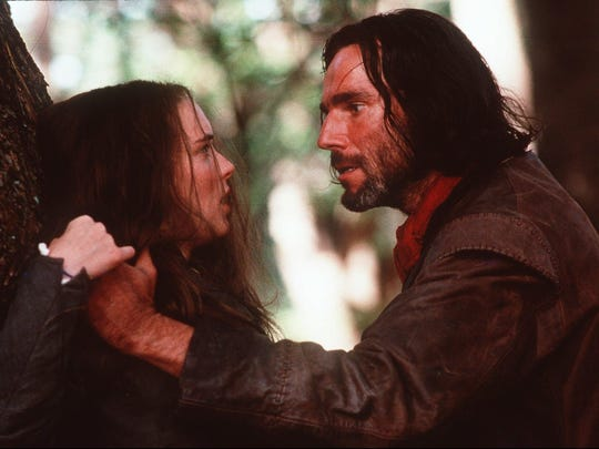 """Winona Ryder and Daniel Day-Lewis appear in a scene from """"The Crucible."""""""