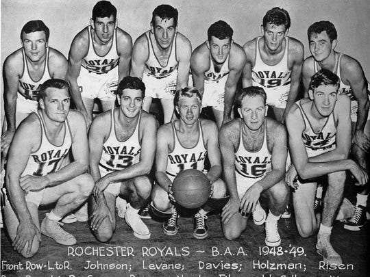 Rochester Royals. 1948-1949.