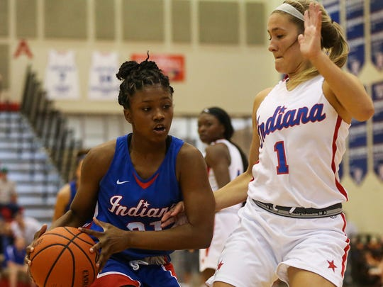 Cathedral's Keya Patton (left)