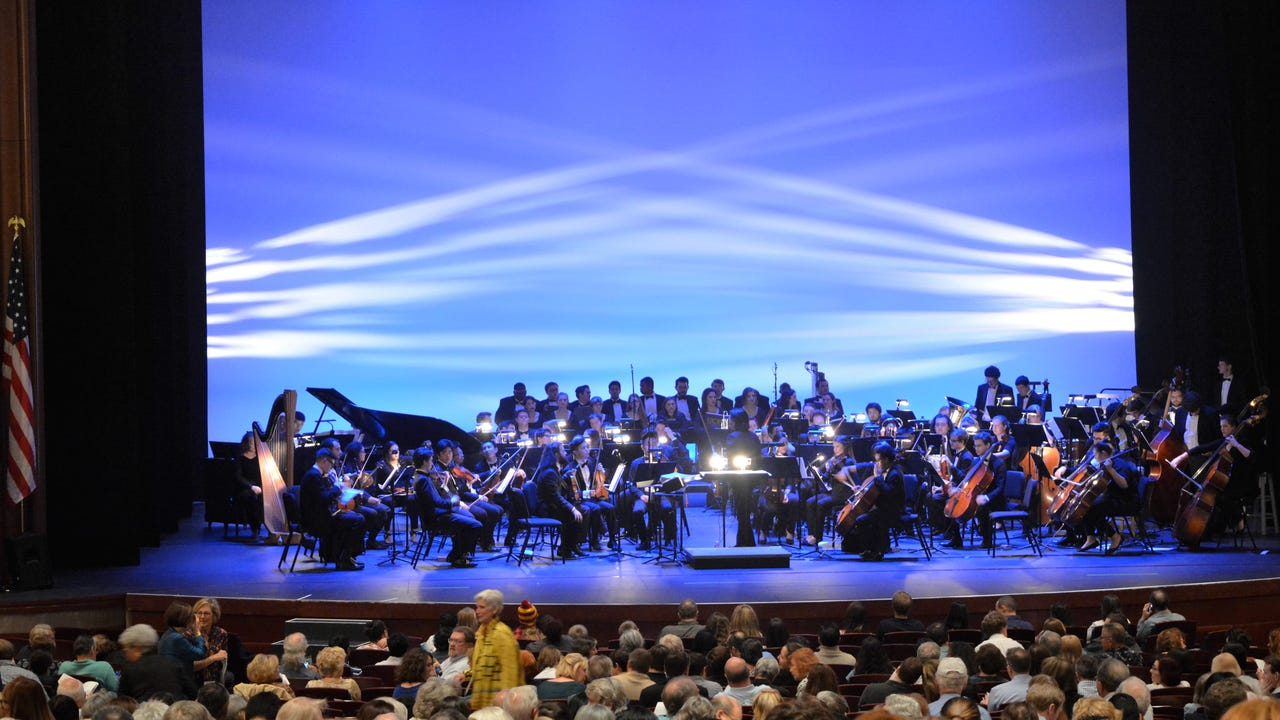 "Patrick Doyle, a composer known for his work ranging from films such as ""Harry Potter and the Goblet of Fire"" to ""Hamlet,"" composed and presented music in Kenneth Branagh's Shakespeare movies with the UCF orchestra and choir on Friday."