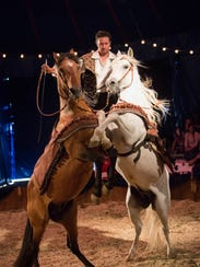 Cirque Ma'Ceo will bring its acrobatic horse stunt
