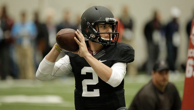 Will the Houston Texans go for the most exciting quarterback in the draft, Johnny Manziel, with the first overall pick?