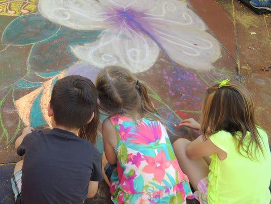 Spring Chalk Art Festival