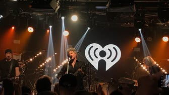 Bon Jovi at the iHeartRadio ICONS with Bon Jovi broadcast Wednesday, Feb. 21 at the a iHeartRadio Theater in New York City.