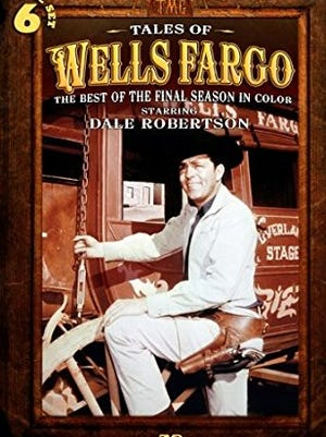 'Tales of Wells Fargo' TV western starring Dale Robertson