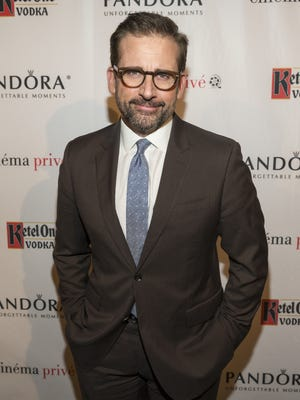 Steve Carell at a 'Foxcatcher' screening on on Dec. 4, 2014 in West Hollywood.