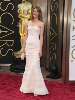 Laura Dern at the 2014 Oscars in February. This year, she's going as a nominee.