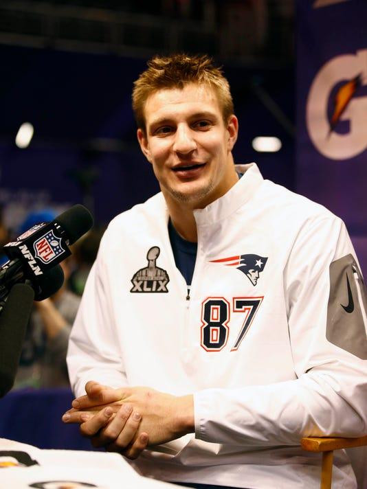 NFL: Super Bowl XLIX-New England Patriots Media Day