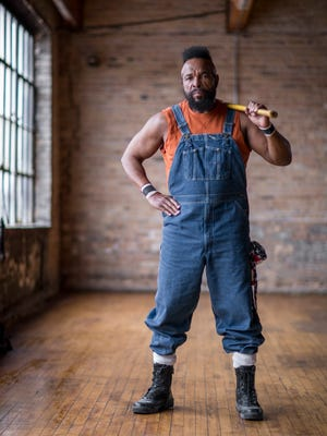 "Mr. T, the new host of DIY Network's ""I Pity the Tool"""