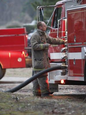 Madison County firefighter Chris Blankenship