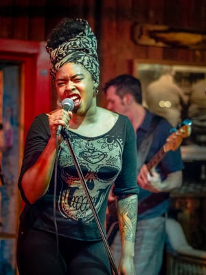 Rockin' soul singer Nikki Hill has a one-night-only show Wednesday at Downstairs Cabaret at Winton Place.