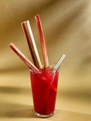 Rhubarb cooler.