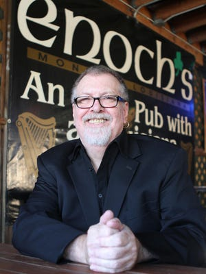 Monroe native Doug Duffey travels the world as a professional musician and often performs at Enoch's Irish Pub in Monroe.