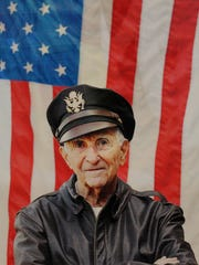 Gibian flew 87 combat missions during World War II and was honored by the French Government three years ago.