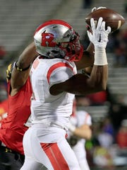Rutgers wide receiver Leonte Carroo has been indefinitely