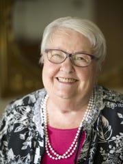 Joyce O'Brien, 91, says she danced down Locust Street when the Japanese surrendered ending World War II.