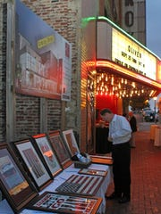 The Roxy held its annual Gala on Saturday. Dinner,