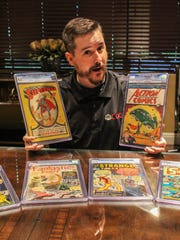 Paul Litch, who grew up in Somerville and Bridgewater, has become the most respected comic book appraiser and grader in the marketplace.